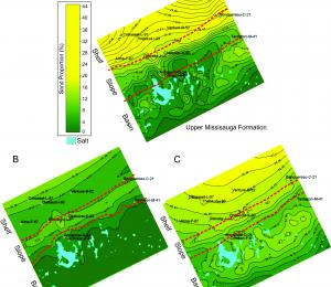 Predictive modelling of sandstone reservoir quality in the Scotian Basin report image.