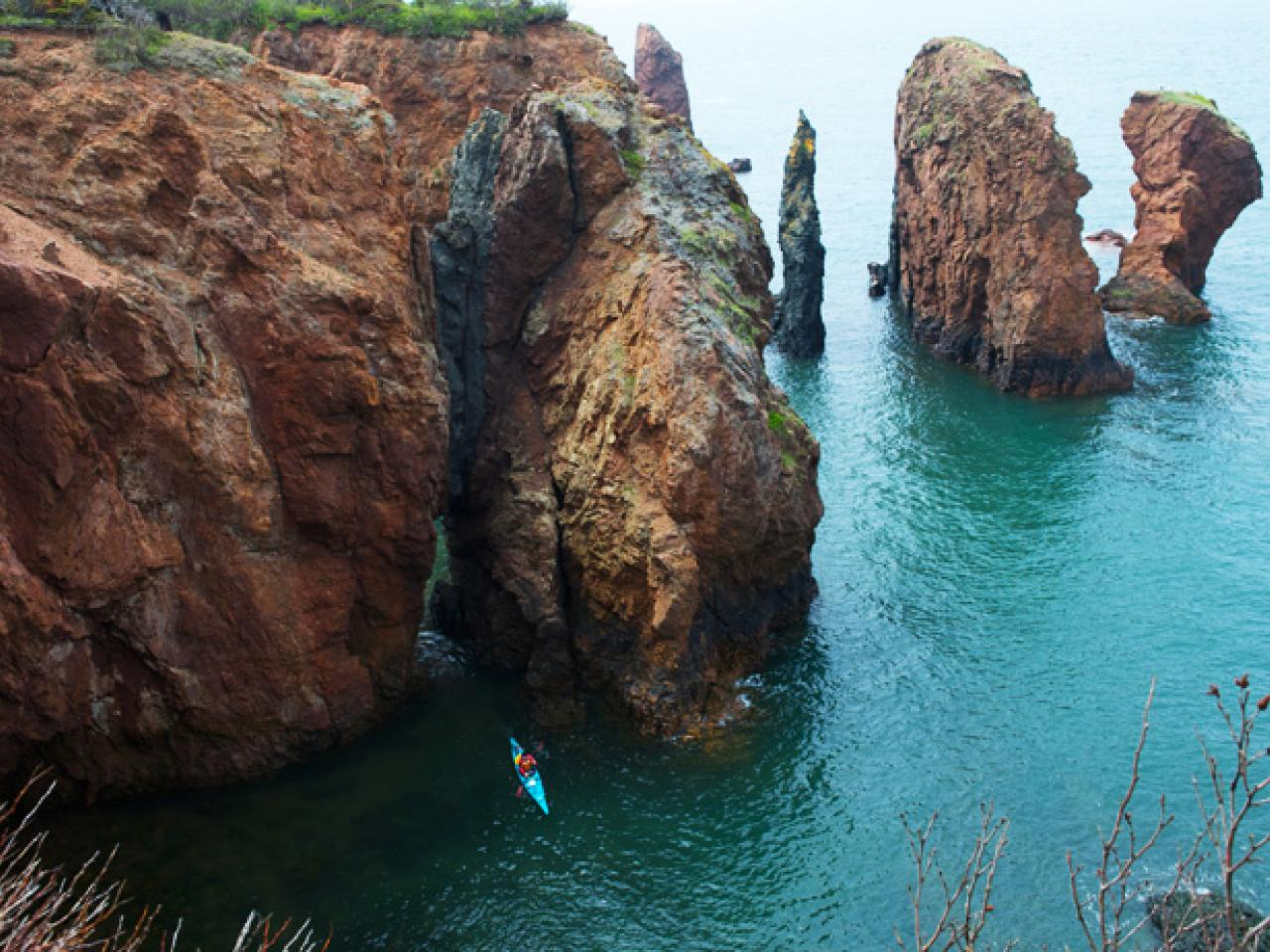 Fundy rocks